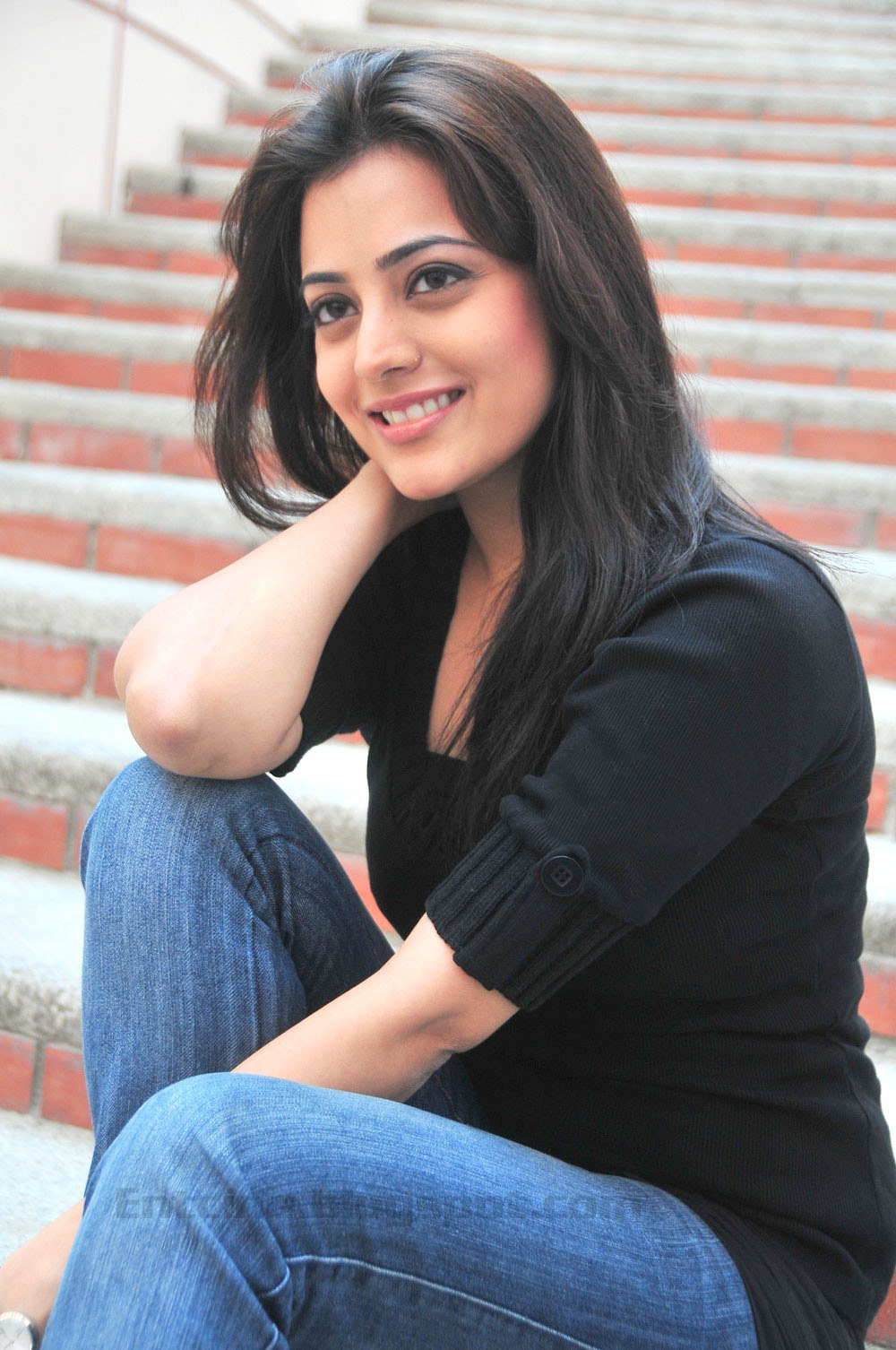 , nisha agarwal pics, nisha agarwal in black dress, nisha agarwal ...