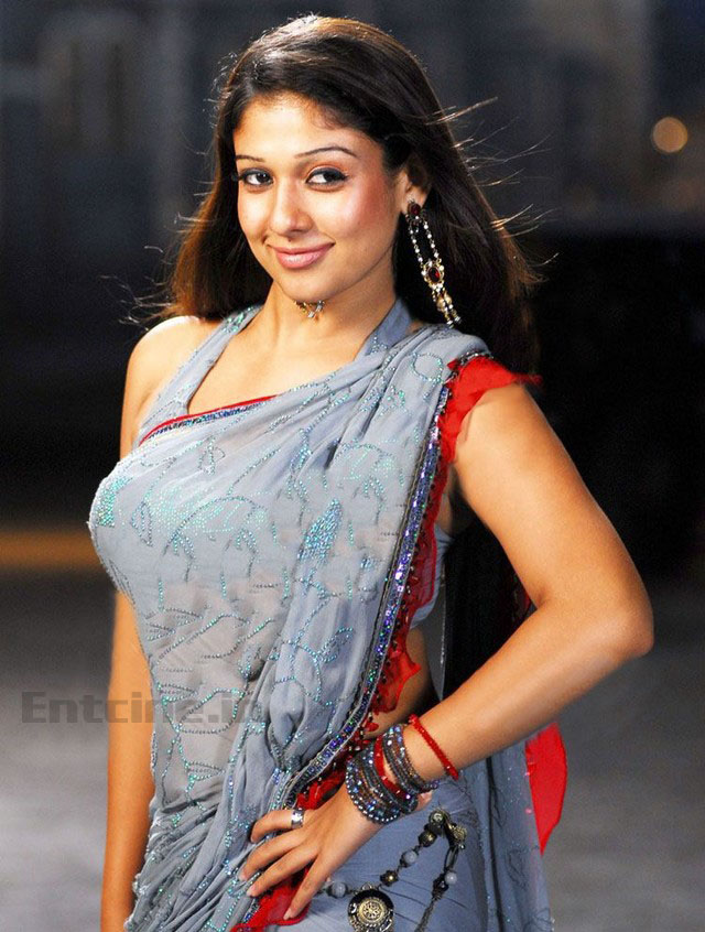 Nayanthara Latest Hot Saree Stills Photos Images Pics -6773